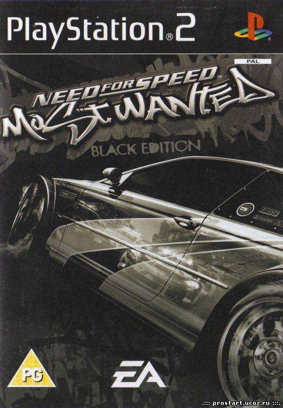 Need For Speed Most Wanted Black Edition (2005/RePack by R.G. Black…